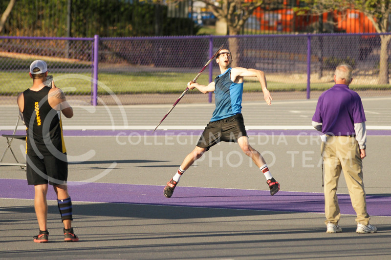 The Kansas State track and field team competed in day one of the Ward Haylett Invitational at the R.V. Christian Track and Field Complex on Saturday afternoon. (Sophie Osborn | Collegian Media Group)