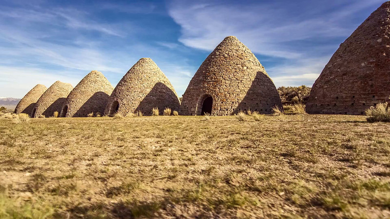 Ward Charcoal Ovens, Nevada
