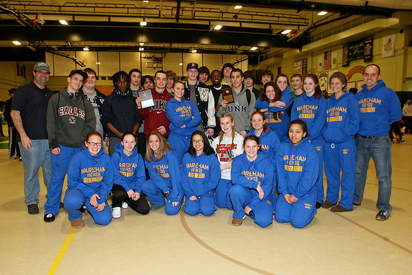 2012 Winter Track Team Photo