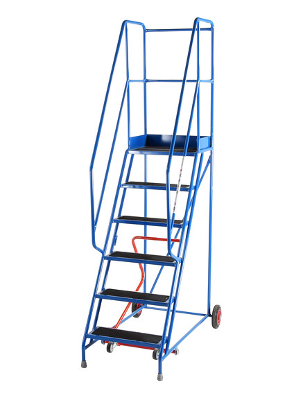 British Standard Mobile Safety Steps | Warehouse Steps