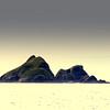 Guardians, Brooks Peninsula, (negative format)
