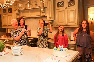 AJ Wargo 17th birthday party, 9/13/2015