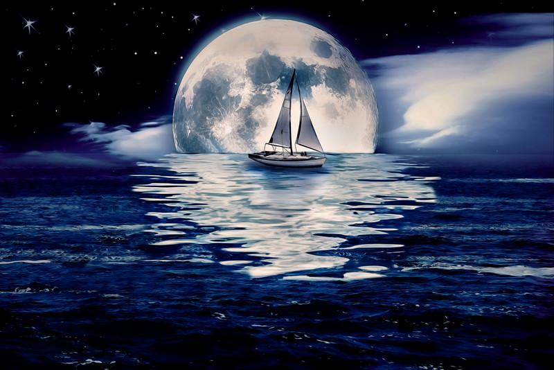 Sea of Light II