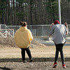 The good weather on Tuesday, March 10, 2020 brought many out to have fun at Parkhill Park in Fitchburg. A couple of teens enjoy the nice weather while chatting on the swings in the park. SENTINEL & ENTERPRISE/JOHN LOVE