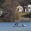 It was a good day to take your boat out on Lake Whalom Tuesday at the Temperature reached 80+ across Massachusetts. This couple and their dog where having a good time on the water now that the ice is gone. SENTINEL & ENTERPRRISE/JOHN LOVE