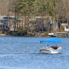 It was a good day to take your boat out on Lake Whalom Tuesday at the Temperature reached 80+ across Massachusetts.  SENTINEL & ENTERPRRISE/JOHN LOVE