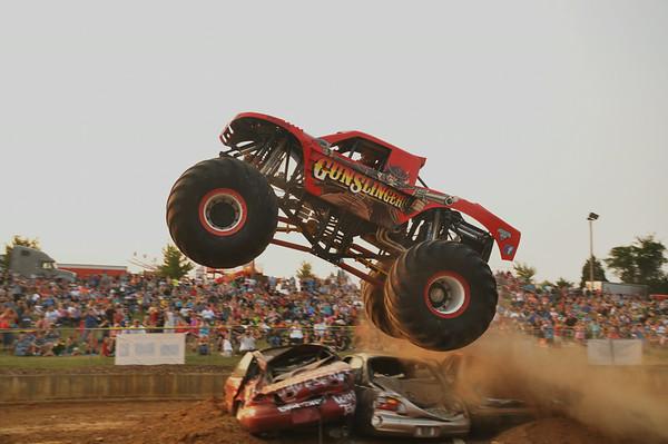 "2014 Warren County Fair ""Monster Trucks & Freestyle Motorcross"" 8-9-14"
