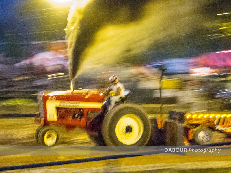 Tractor Pull in motion!