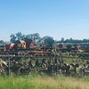 Old farm equipment spotted on Warren Shaw and Mary Jane McArdle's road trip.