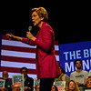 KRISTOPHER RADDER — BRATTLEBORO REFORMER<br /> Democratic presidential candidate Sen. Elizabeth Warren, D-Mass., holds her first town hall in New Hampshire after the Iowa Caucus, at the Colonial Theatre, in Keene, N.H., on Tuesday, Feb. 4, 2020.
