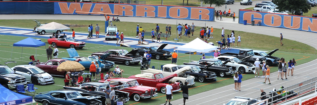 Warrior Country Showdown Car Show 2015 at WOHS
