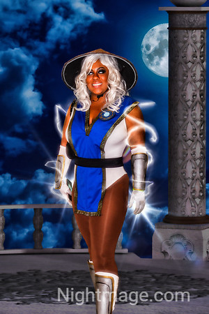 Raiden from Mortal Kombat