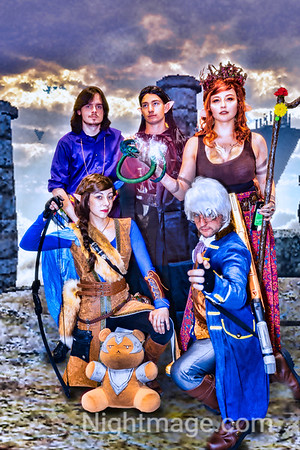Critical Role D&D Troup