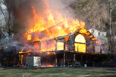 Warwick House Fire Photos 01/21/16
