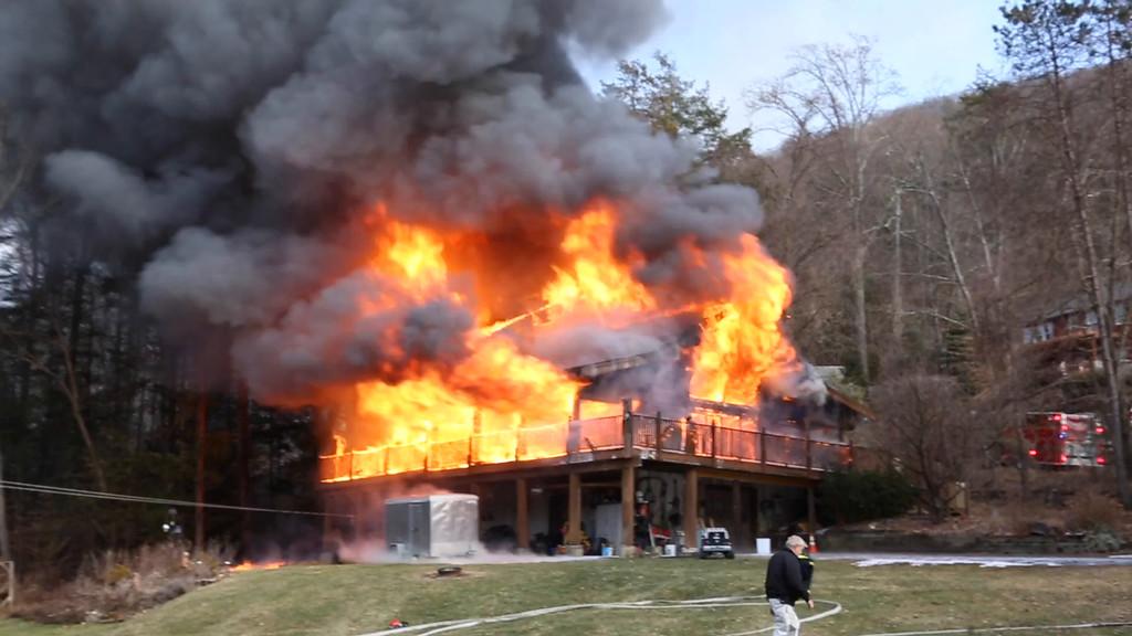 Warwick Fire Video 1