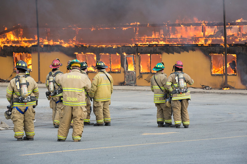 Mid State Lumber Fire