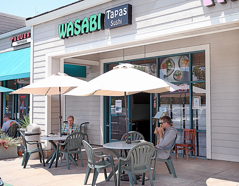 . Wasabi Tapas in Capitola\'s Brown Ranch Marketplace offers lunch specials. (Dan  Coyro -- Santa Cruz Sentinel)