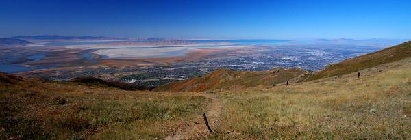 Salt Lake City and Great Salt Lake