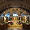 This is a lovely crypt chapel below the the actual chapel