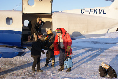 Loading up the Pilatus for departure, December 12, 2012.