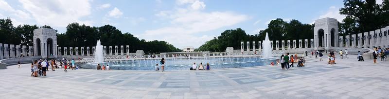 World War II Memorial Panorama