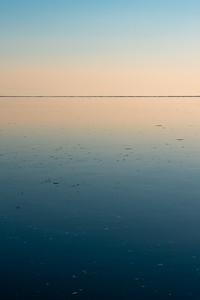 blue hour over the salish sea