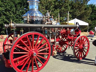 Antique engines day in Anacortes.
