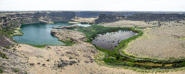 Dry Falls and Wet Lakes