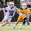 #16 Trey Ritter,  Washington College Chestertown, Washington College Men's Lacrosse, Washington College Men's Lacrosse NCAA DIII 2019, Washington College Men's Lacrosse vs. McDaniel. Senior Day