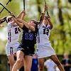 #12 Aubrey Robinson, #24 Melissa Donato, Washington College Women's Lacrosse NCAA DIII 2019, Washington College Women's Lacrosse vs F&M
