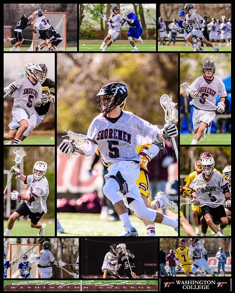 #5 Charles Walker, Washington College Men's Lacrosse Senior Collage 2019