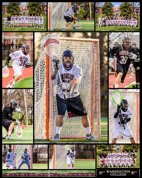 #38 Adam Roth, Washington College Men's Lacrosse Senior Collage 2019