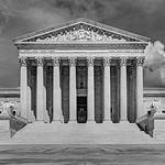 Supreme Court Western Facade [V1] [BW]
