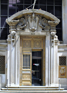 Door to the National Bank of Washington