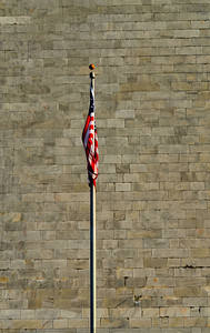 Flag at the Washington Monument