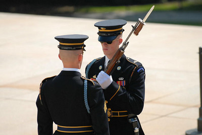 Arlington National Cemetery, Tomb of the Unknown Soldiers, Changing of the Guard