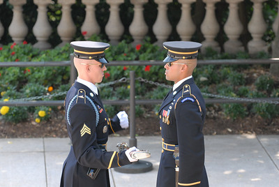 Arlington National Cemetery; Tomb of the Unknown Soldiers; Changing of the Guards