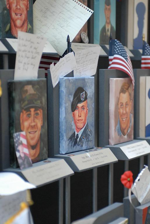 Arlington National Cemetery, Faces of the Fallen Exhibition