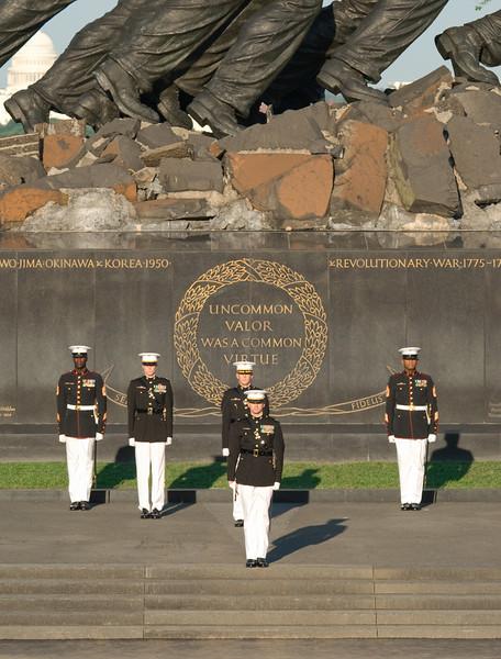 Sunset Parade, Iwo Jima Memorial, Rosslyn, VA