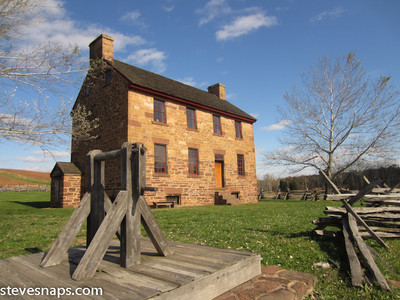 Stone house at the  Manassas Battlefield