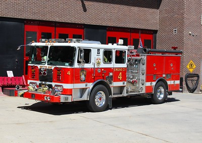 Pleasant Plains Engine 4 (Hornets Nest)