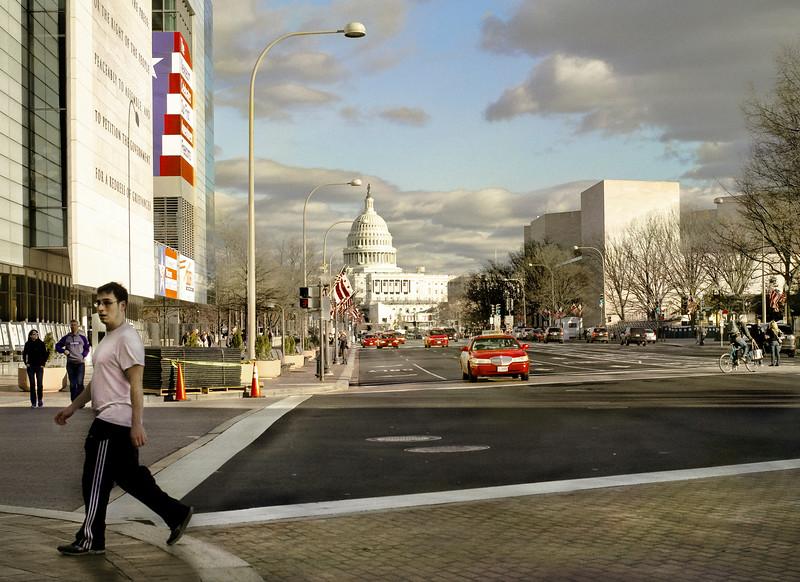 Capitol, Pennsylvania Ave, Washington, DC
