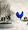 Fritsch, Blue Rooster, I, National Museum, Washington, DC