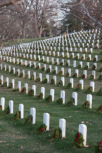 Arlington National Cemetary, right after Christmas 2013