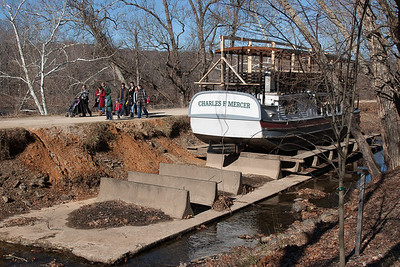 Parts of the canal were the lowest we have ever seen them -- Great Falls Park, Maryland, Dec 2013