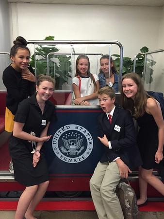 Washington DC trip 2016 Eighth Grade
