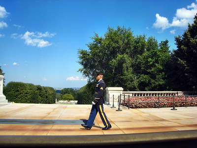Tomb of Unknown Soldier - Changing of the Guards