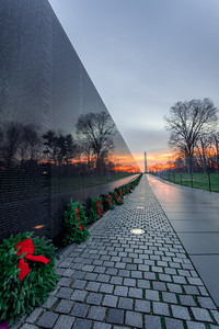 Vietnam Veterans Memorial Sunrise