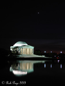 The Jefferson Memorial - Washington, DC ... November 7, 2005 ... Photo by Rob Page III