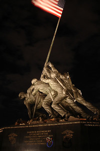 The Iwo Jima Memorial - Rosslyn, VA ... October 16, 2005 ... Photo by Rob Page III